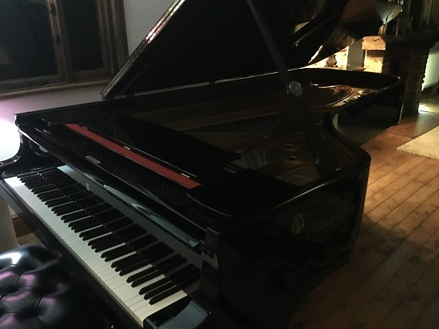 Steinway and sons. Model D  1984